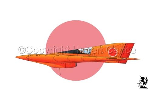 Horten Ho XIIIb Japanese Trainer (Flag #1) (large view)