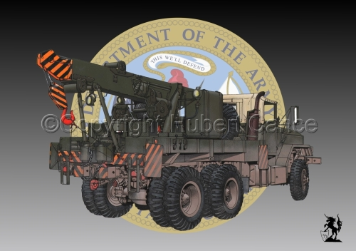 AM M936 Recovery Truck (Insignia #1) (large view)