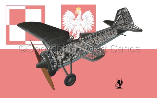 PZL P.7a (Flag #2) (large view)