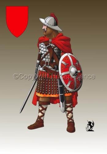 Guard of Emperor Carolus Magnus (800) (Shield #3) (large view)