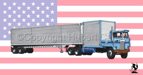 Kenworth CBE Tractor (Flag #1) (large view)