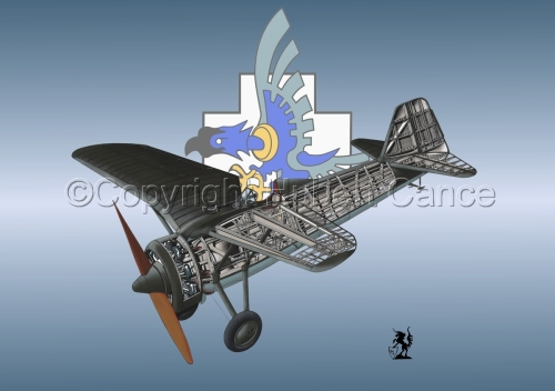 PZL P.7a (Insignia #15) (large view)