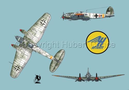 Heinkel He 111H-16 (Logo #1.2) (large view)