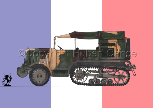 Unic P-107 BU Artillerie (Flag #1) (large view)
