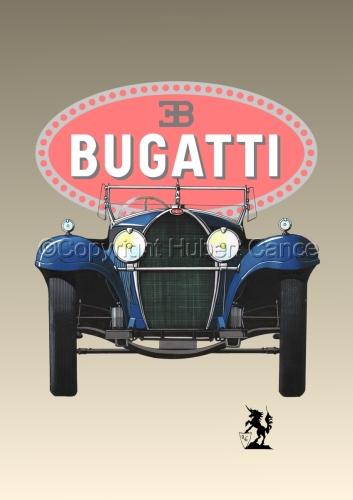 Bugatti Type 50 (Logo #1) (large view)