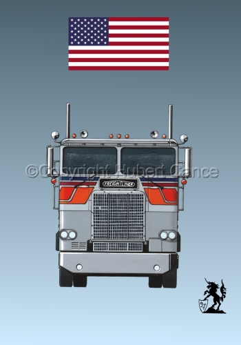 Freightliner COE Tractor (Flag #1.3) (large view)