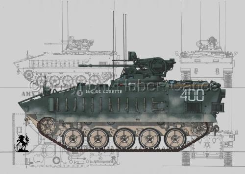 AMX 10PC (Blueprints #3) (large view)
