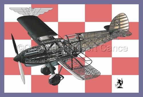 Avia B-534N (Flag #7) (large view)