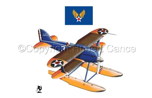 Curtiss R3C2 Army Racer (Flag #2.1) (large view)