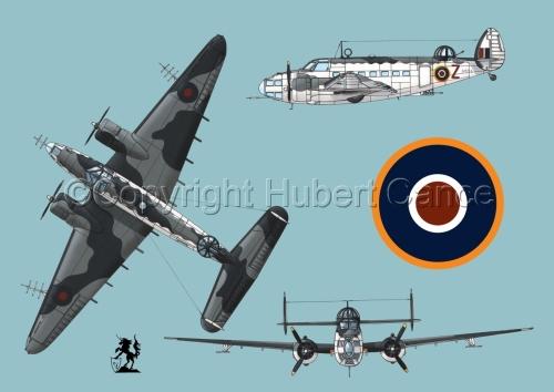 """Lockheed """"Hudson V"""" (Roundel #1.2) (large view)"""