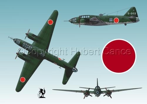 "Mitsubishi G4M3 ""Betty"" (Roundel #1.3) (large view)"