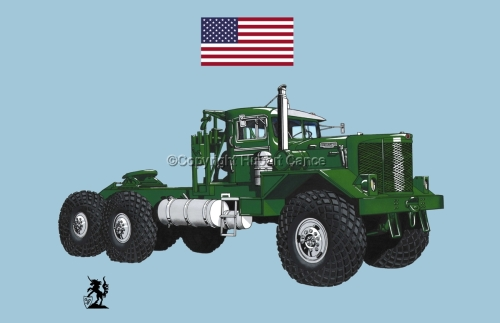 Kenworth Model 953 Tractor (Flag #1.2) (large view)