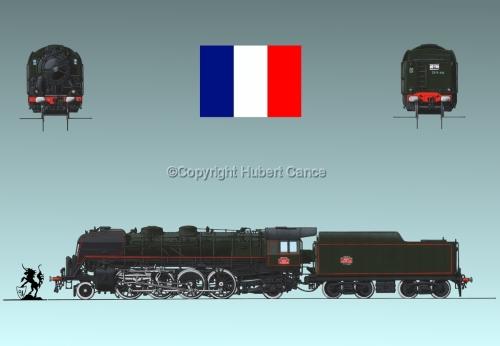 141R SNCF (France) Flag #1.3 (large view)