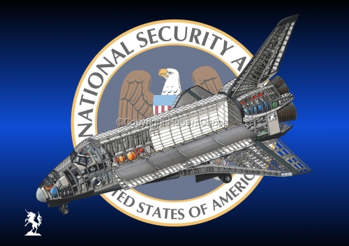 Rockwell Space Shuttle (Insignia #3) (large view)