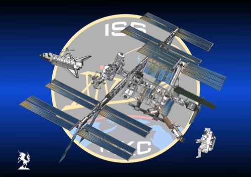 International Space Station (Insignia #17) (large view)