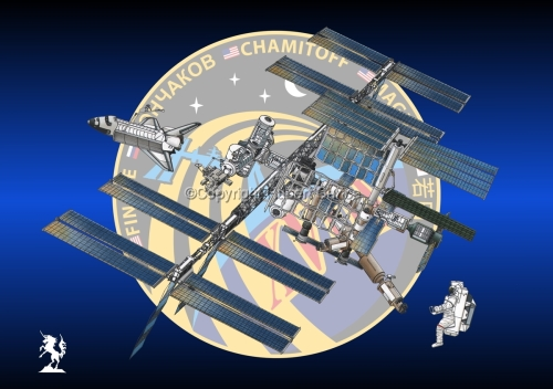 International Space Station (Insignia #21) (large view)