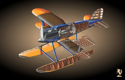 Curtiss R3C2 Army Racer #1.4 (large view)