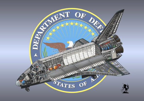 Rockwell Space Shuttle (Insignia #11) (large view)