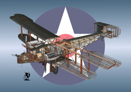Handley Page O/400 (Roundel #5) (large view)