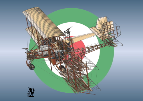 Caproni Ca.3 (Roundel #8) (large view)