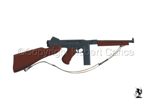 Thompson M1A1 Machine-Gun #1 (large view)