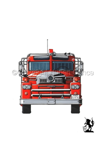 Seagrave 1958 Fire Truck #1 (large view)