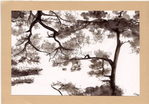 """Pine Trees"" (large view)"