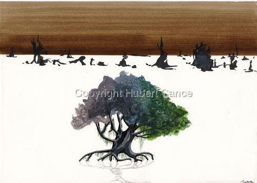 """Swamp Tree"" (large view)"