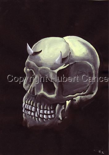 """Demon Skull"" (large view)"