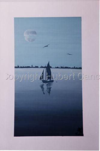 """""""Sailing on Laguna"""" (large view)"""