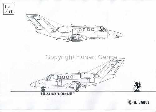 """Cessna """"Citation"""" (large view)"""