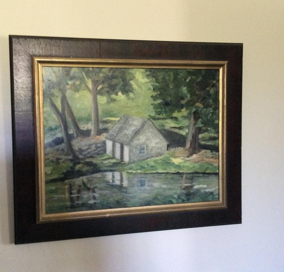 Spring House Pond, framed  (large view)