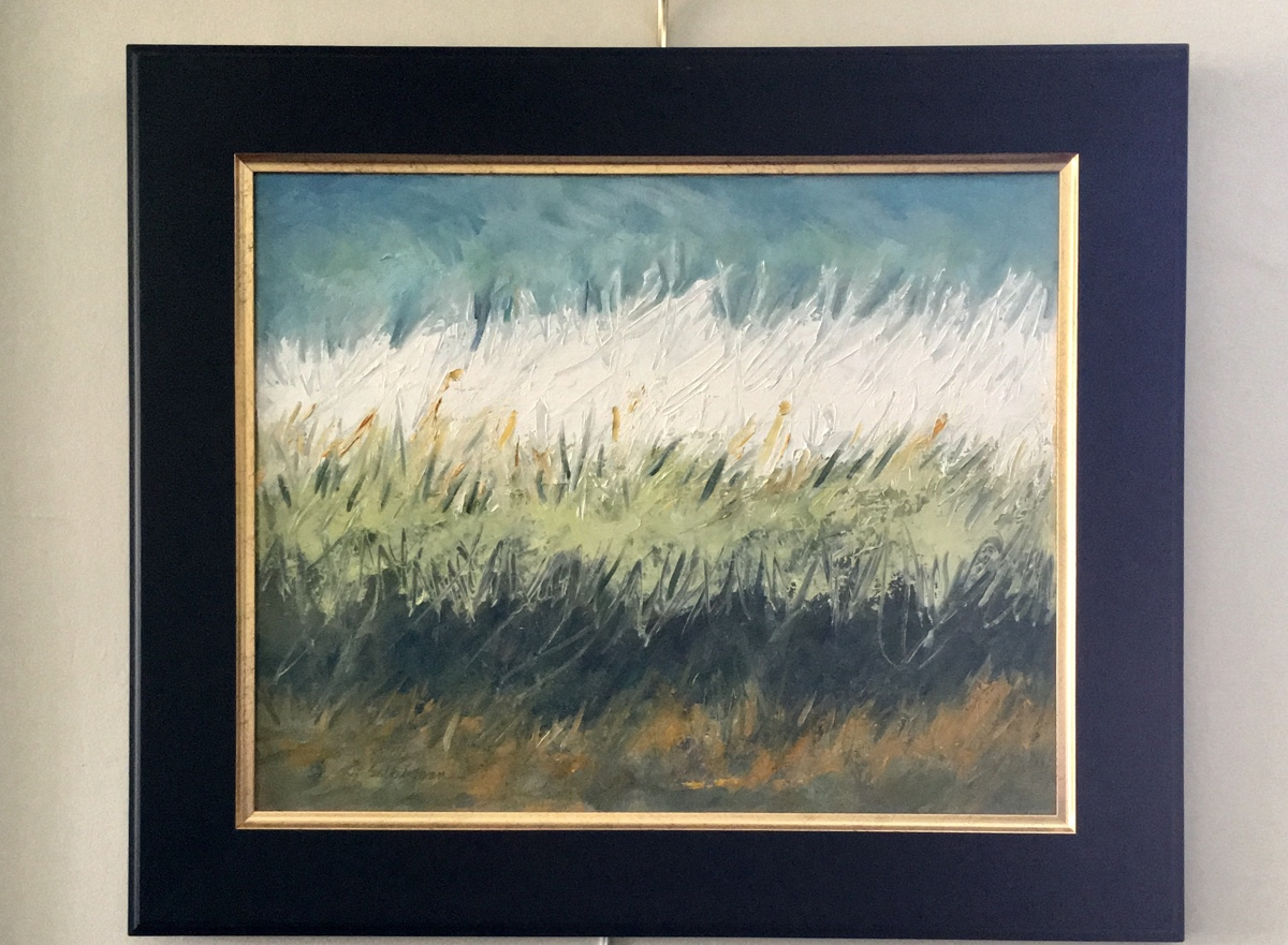 Summer Grass, framed  (large view)
