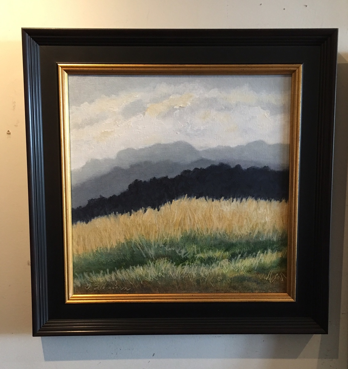 Mountain Grass,  Framed  (large view)