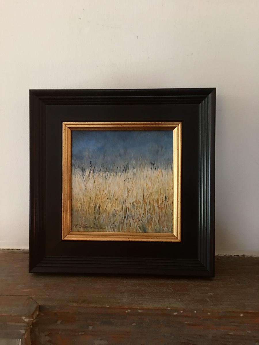 Grassy Morning, framed  (large view)