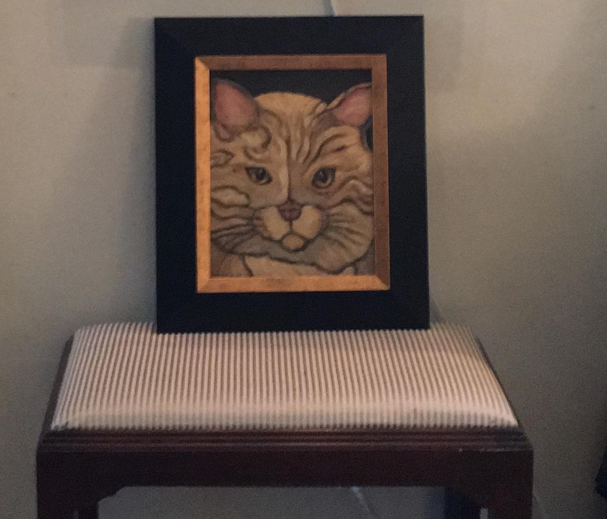 Cat Portrait, framed  (large view)