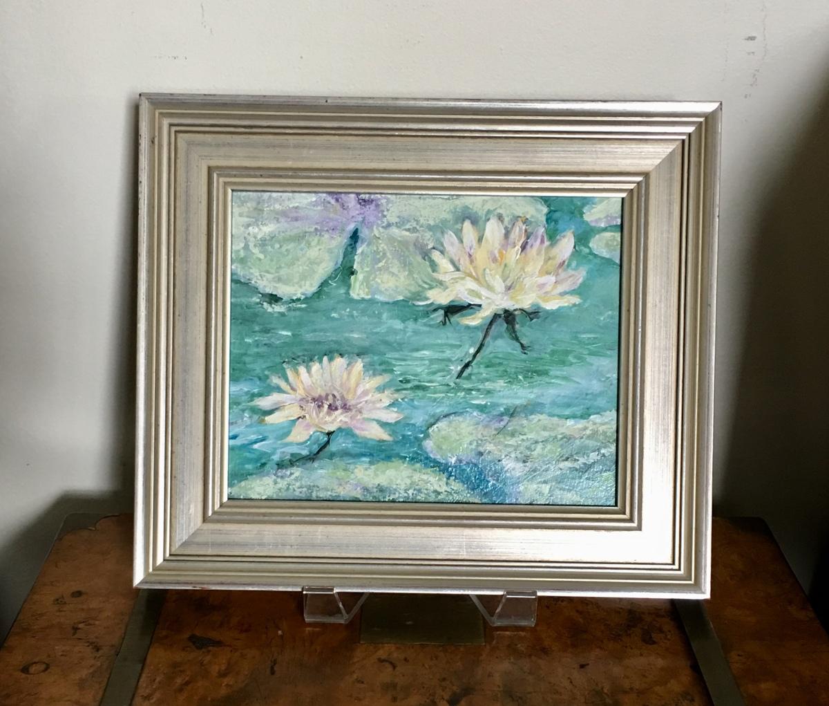 Lotus, framed  (large view)
