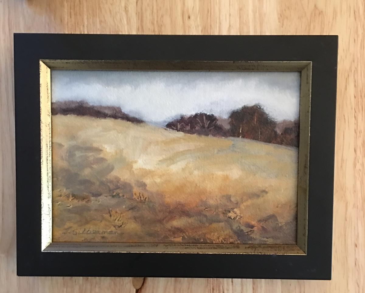 Upland Pasture, framed  (large view)
