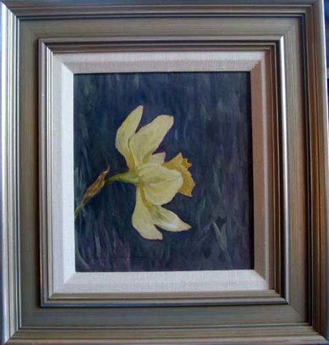 Daffodil Portrait, Framed  (large view)