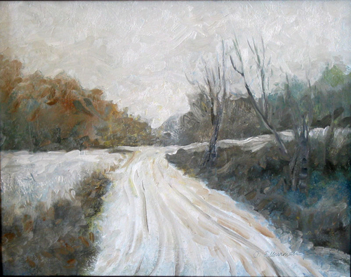 Snowy Day, Chester County (large view)