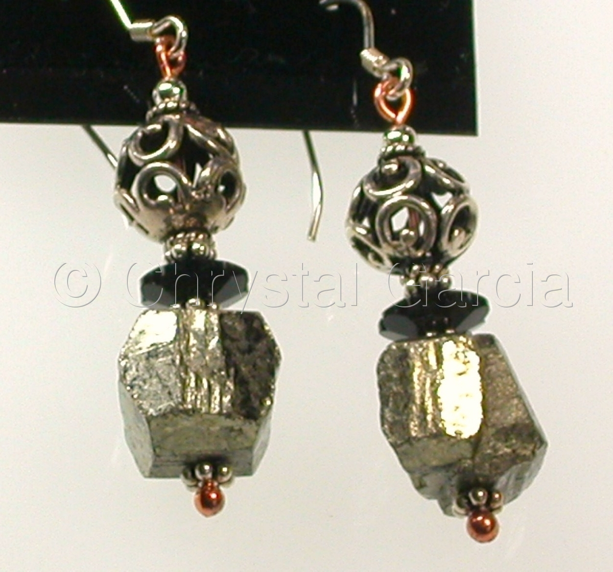 Fools Gold Earrings (large view)