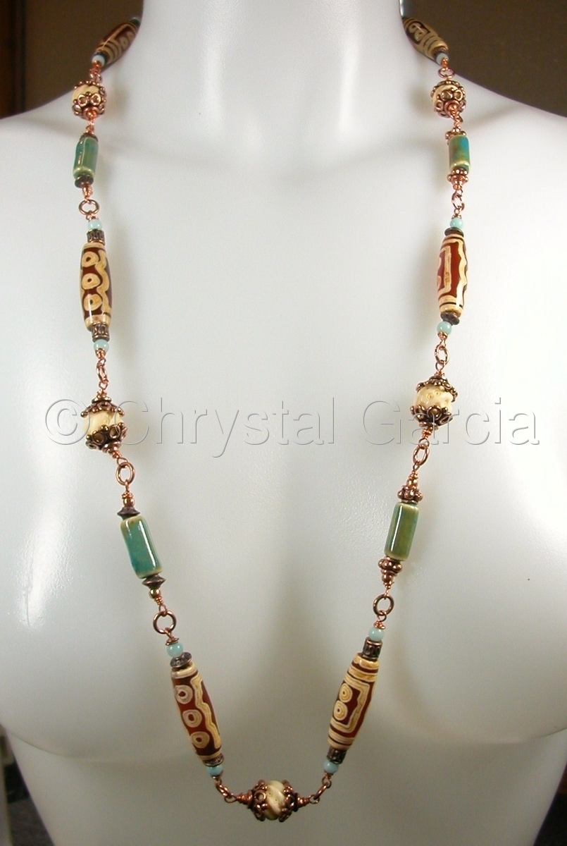 Tribal Treasure Necklace (large view)