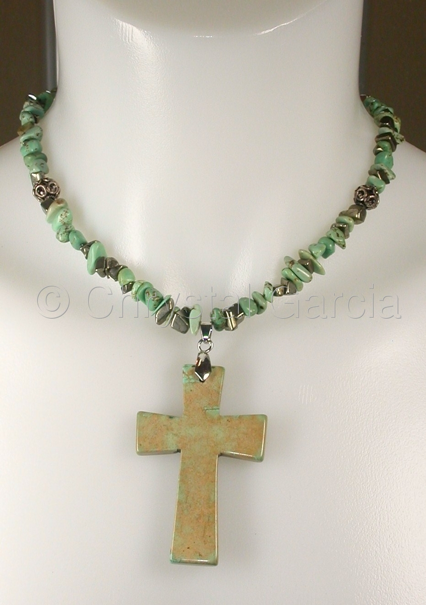 Magnasite Cross Necklace (large view)