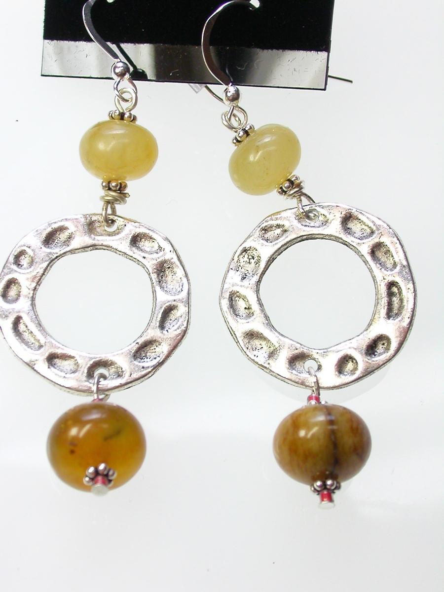 Imperial jasper Earrings (large view)