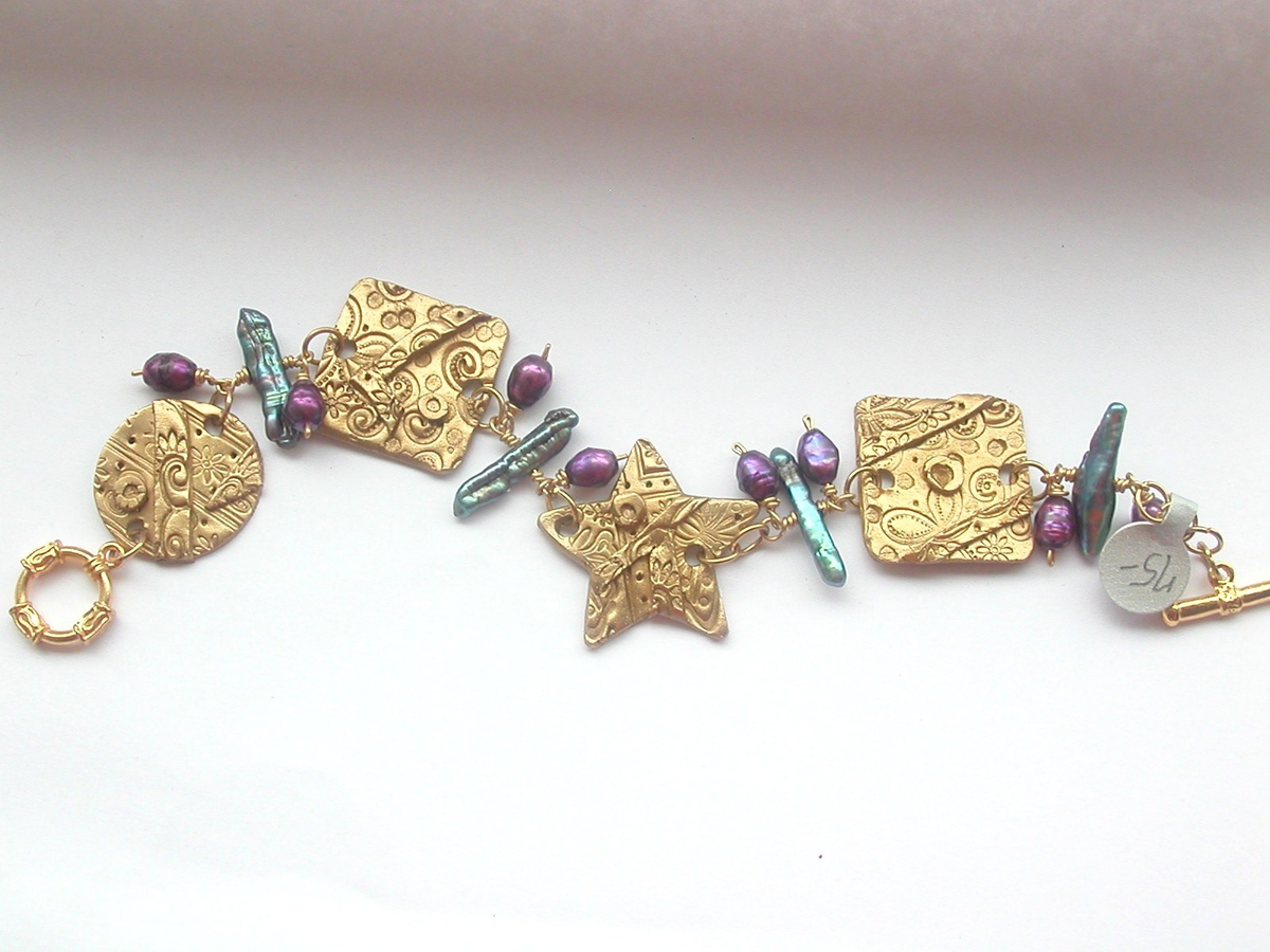 Celestial Bronze Bracelet (large view)