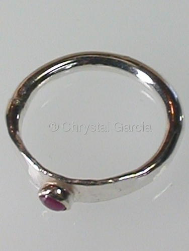 Petite Ruby Ring (large view)