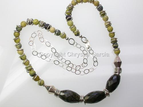 Labyrinthine Necklace
