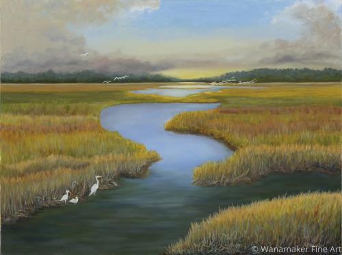 Sunrise on the Marsh