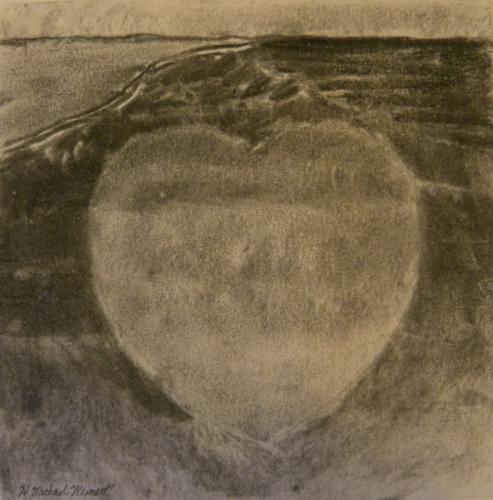 Floating Heart by H. Michael Weinert