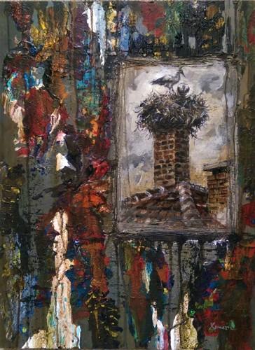 Old chimney by Hristi Wilbur